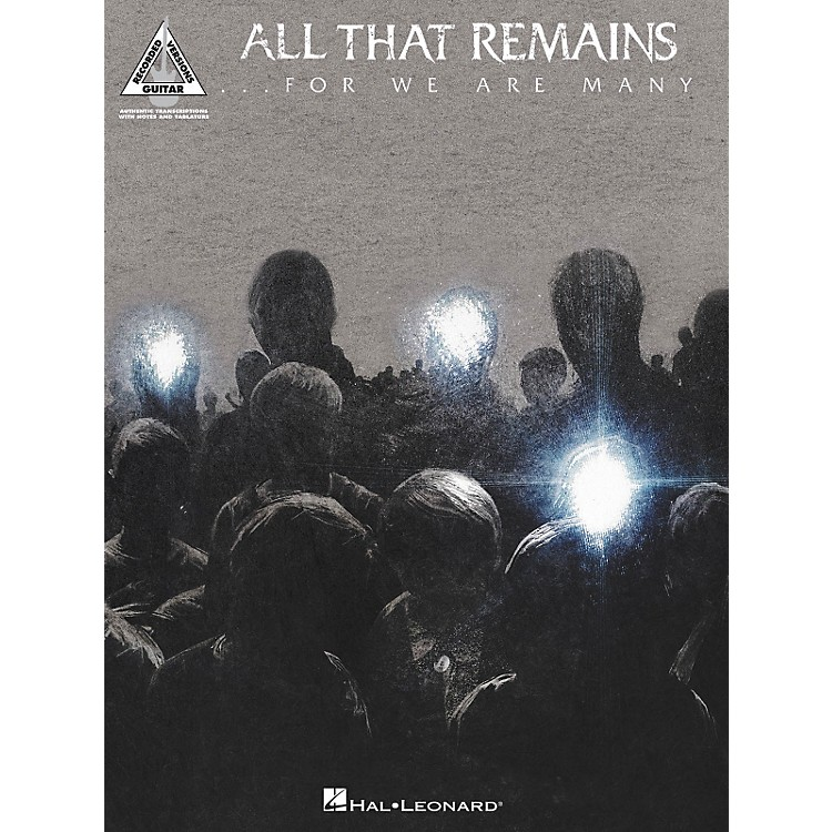 Hal Leonard All That Remains - For We Are Many Songbook