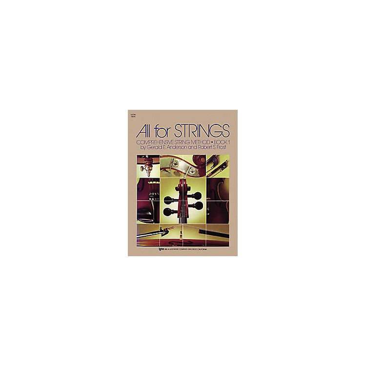 KJOS All for Strings Book 1 Violin