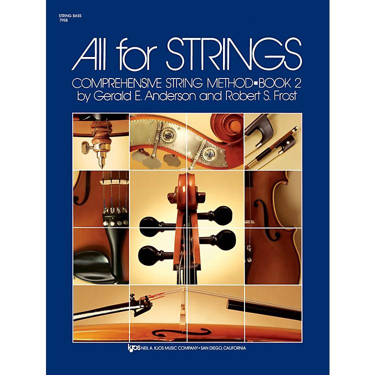 KJOSAll for Strings String Bass Book 2