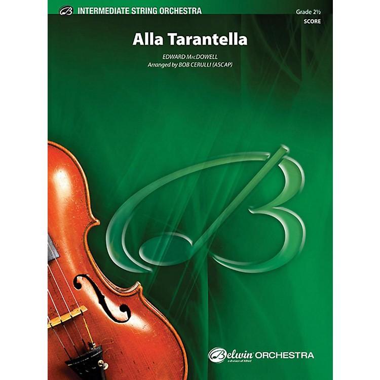 AlfredAlla Tarantella String Orchestra Grade 2.5