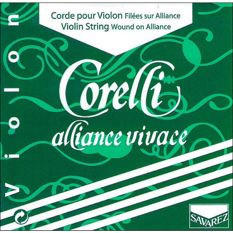 CorelliAlliance Vivace Violin D String4/4 SizeLight Loop End