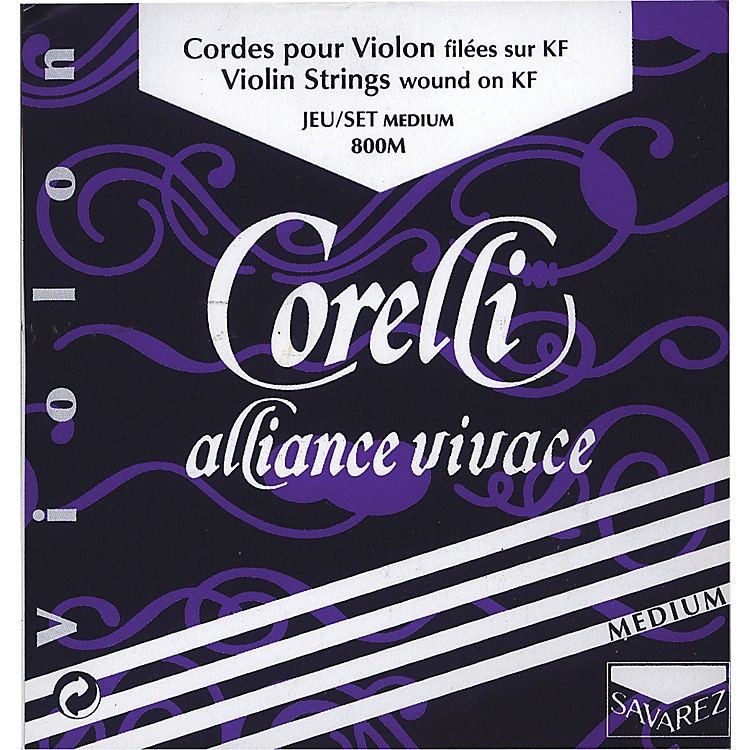 Corelli Alliance-Vivace Violin Strings Set 4/4 Size