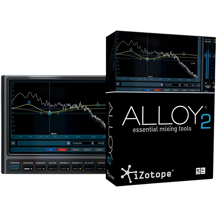 iZotopeAlloy 2 Signal Processing Software