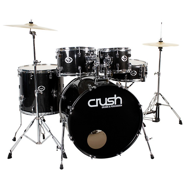 Crush Drums & PercussionAlpha 5-Piece Drum Set with Cymbals