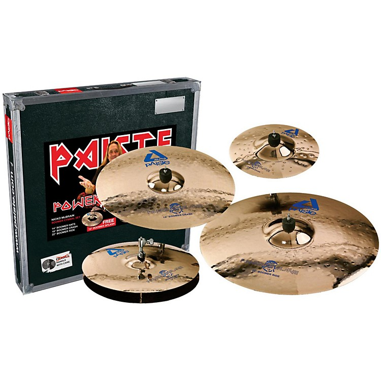 Paiste Alpha Boomer Powerslave Box Set 14/18/22+12 Inch