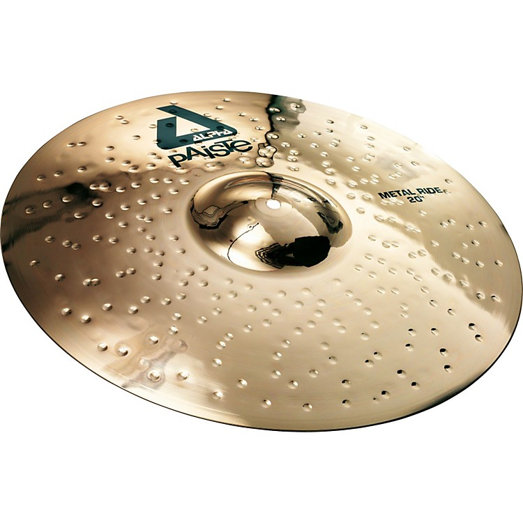 Paiste Alpha Brilliant Metal Ride Cymbal 20 inch