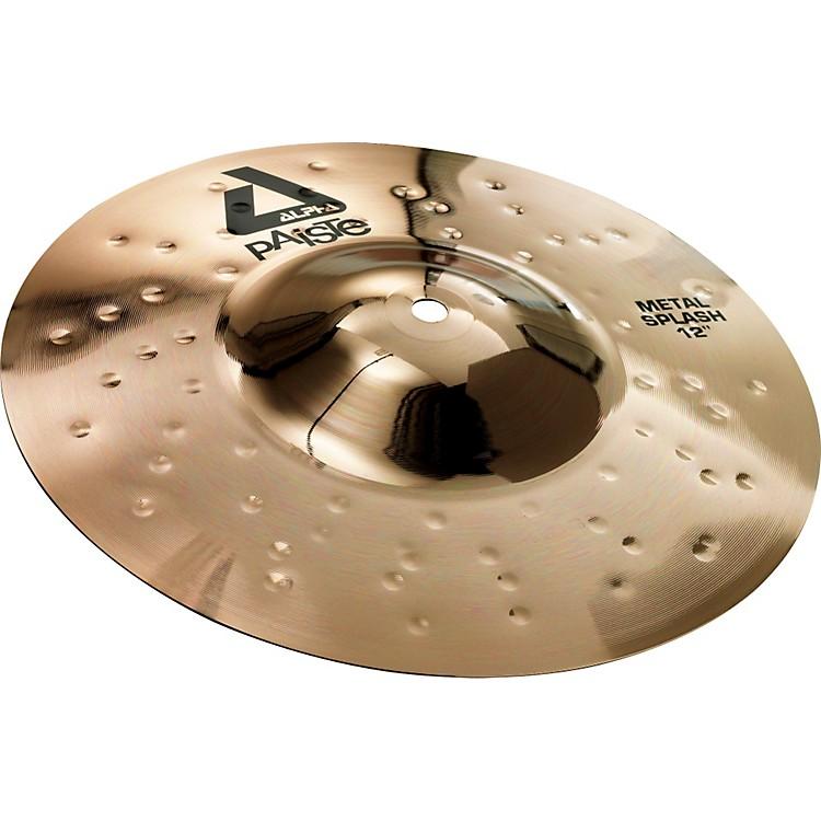 PaisteAlpha Brilliant Metal Splash Cymbal10 inch