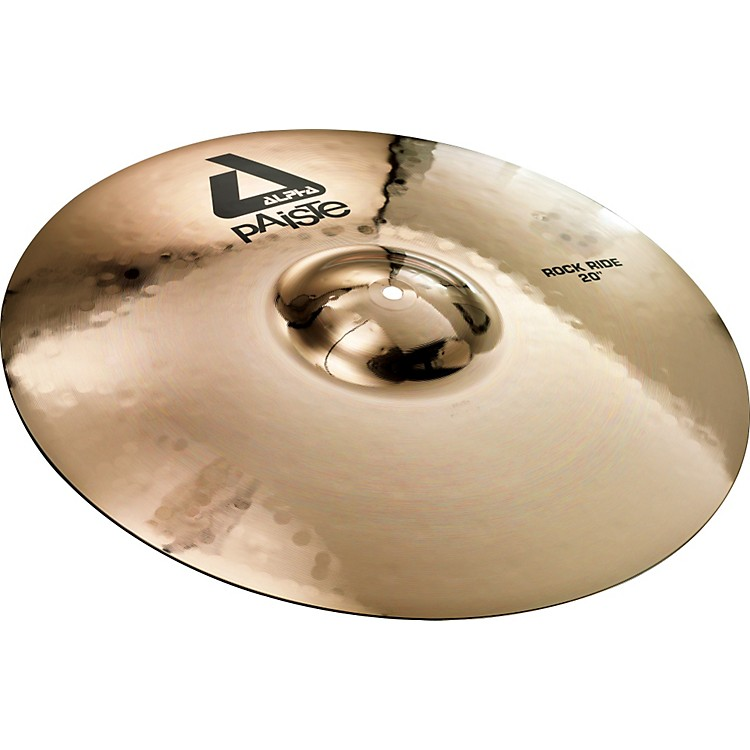 PaisteAlpha Brilliant Rock Ride Cymbal