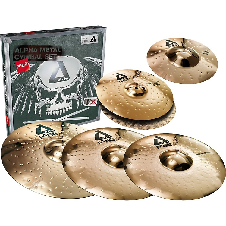 Paiste Alpha Complete Metal Cymbal Pack