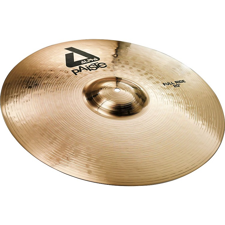 Paiste Alpha Full Ride, Brilliant 20 inch