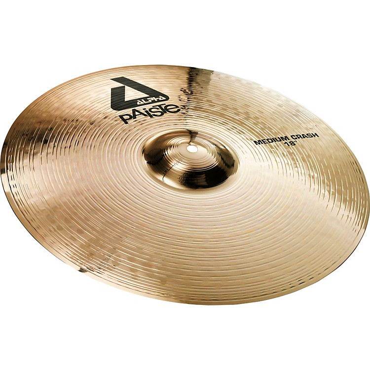Paiste Alpha Medium Crash, Brilliant 18 in.