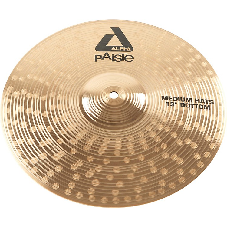Paiste Alpha Medium-Heavy Hi-Hat Cymbal Bottom 13 in.