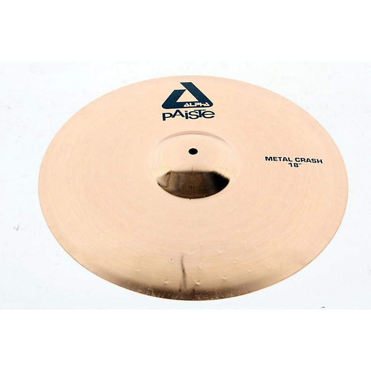 Paiste Alpha Metal Crash Cymbal with Brilliant Finish 18 in. 888365169606