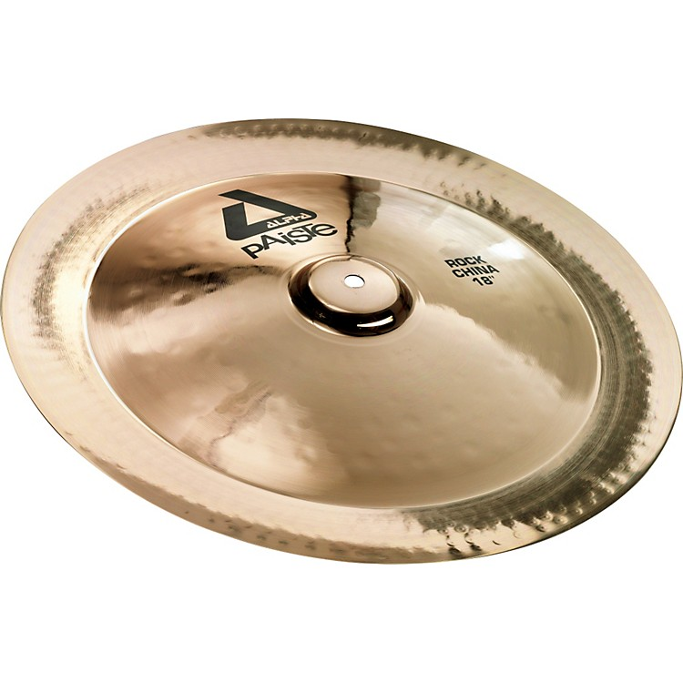 Paiste Alpha Rock China, Brilliant 18 in.