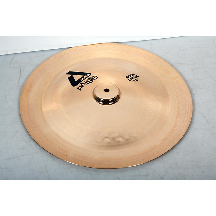 Paiste Alpha Rock China, Brilliant 18 in. 888365907437