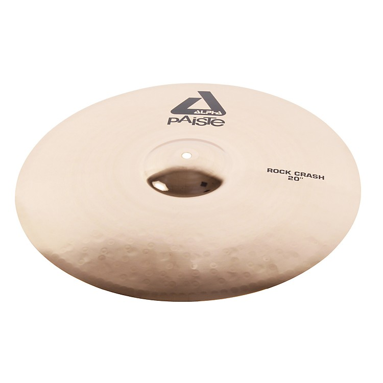 Paiste Alpha Rock Crash, Brilliant 20 in.