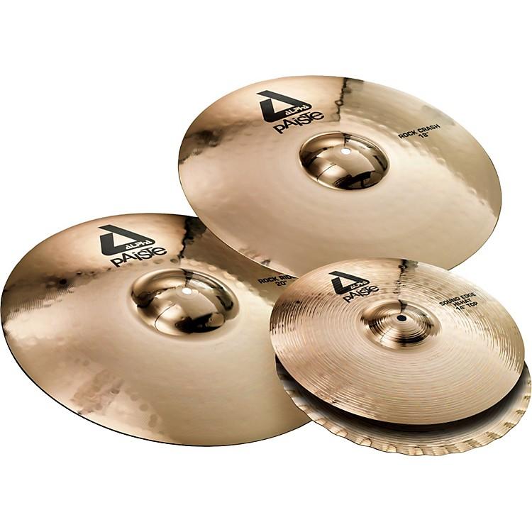 PaisteAlpha Rock Cymbal Pack