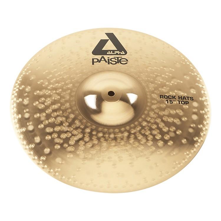 PaisteAlpha Rock Hi-Hat Cymbal Top15