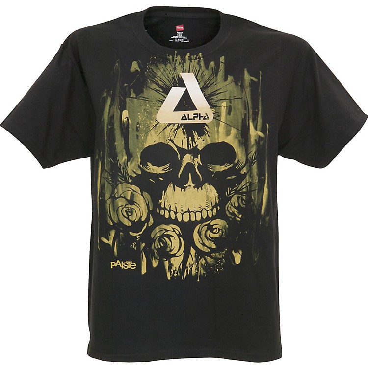 Paiste Alpha Rose Skull T-Shirt