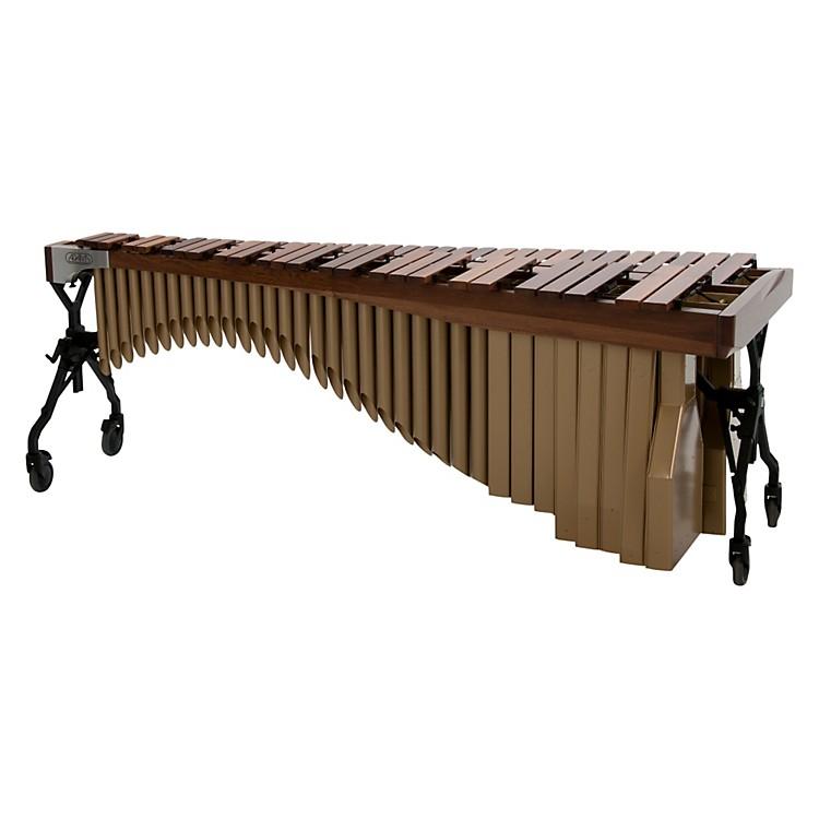 AdamsAlpha Series 4.3 Octave Rosewood Marimba with Walnut RailsSatin Gold Resonators