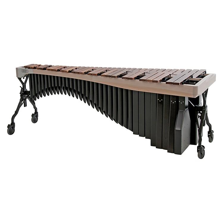 AdamsAlpha Series 4.3 Octave Rosewood Marimba with White Wash RailsBlack Resonators