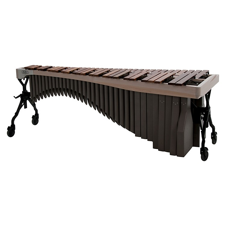 Adams Alpha Series 4.3 Octave Rosewood Marimba with White Wash Rails Desert Resonators
