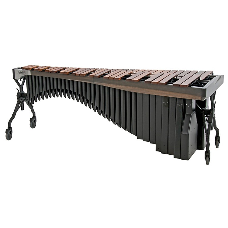 Adams Alpha Series 5.0 Octave Rosewood Marimba with Graphite Rails Black Resonators
