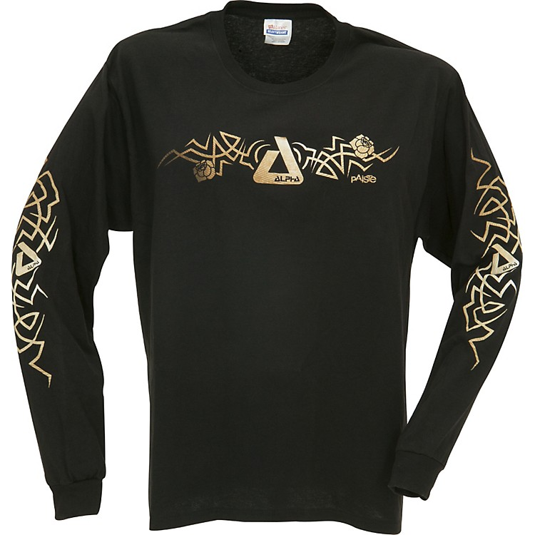 Paiste Alpha Thorn Tribal Long Sleeve T-Shirt Small