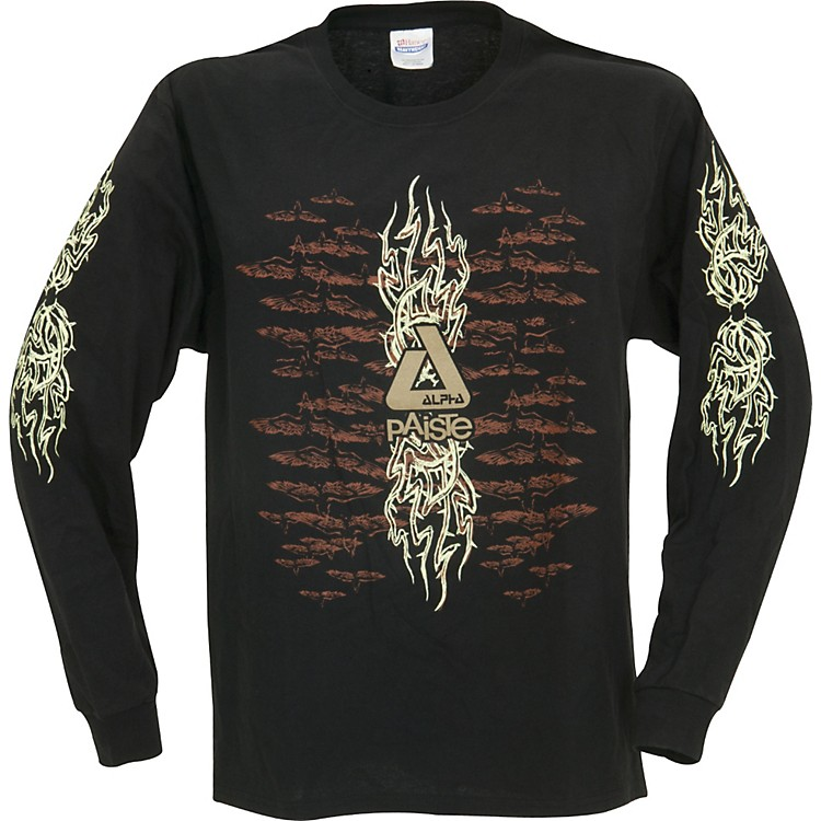 Paiste Alpha Tribal Long Sleeve T-Shirt Small