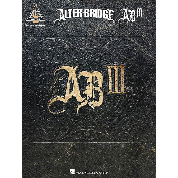 Hal LeonardAlter Bridge - Ab III Guitar Tab Songbook
