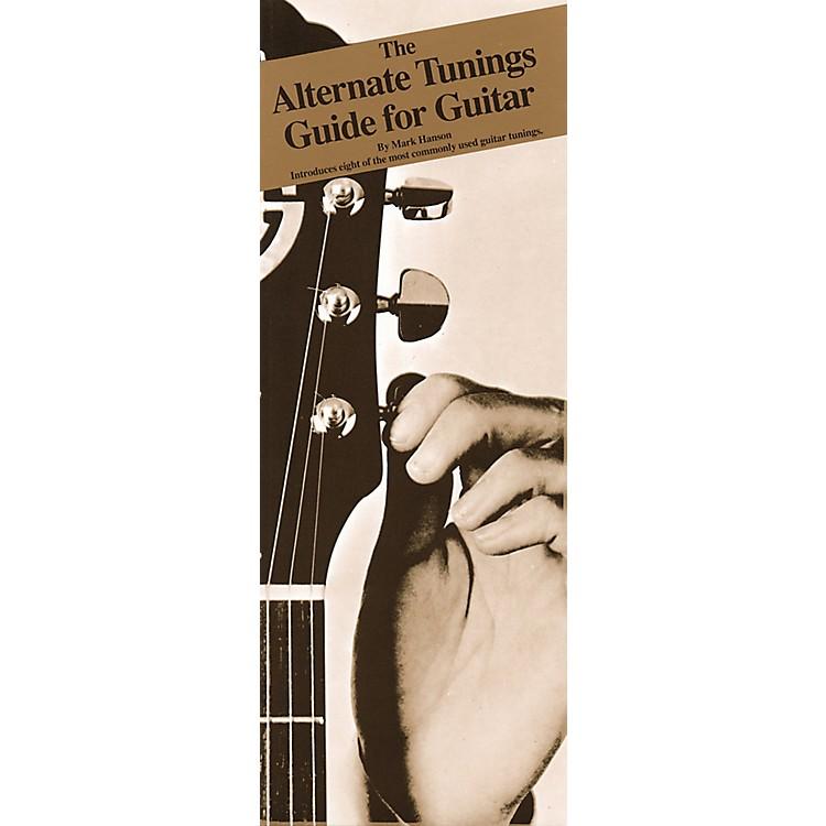 Music SalesAlternate Tunings Guide for Guitar