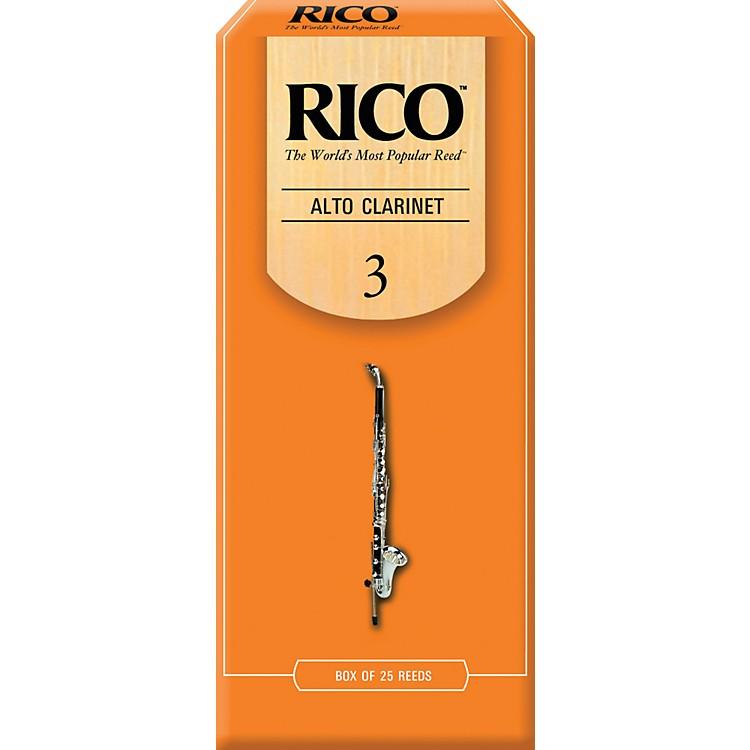 RicoAlto Clarinet Reeds, Box of 25Strength 3
