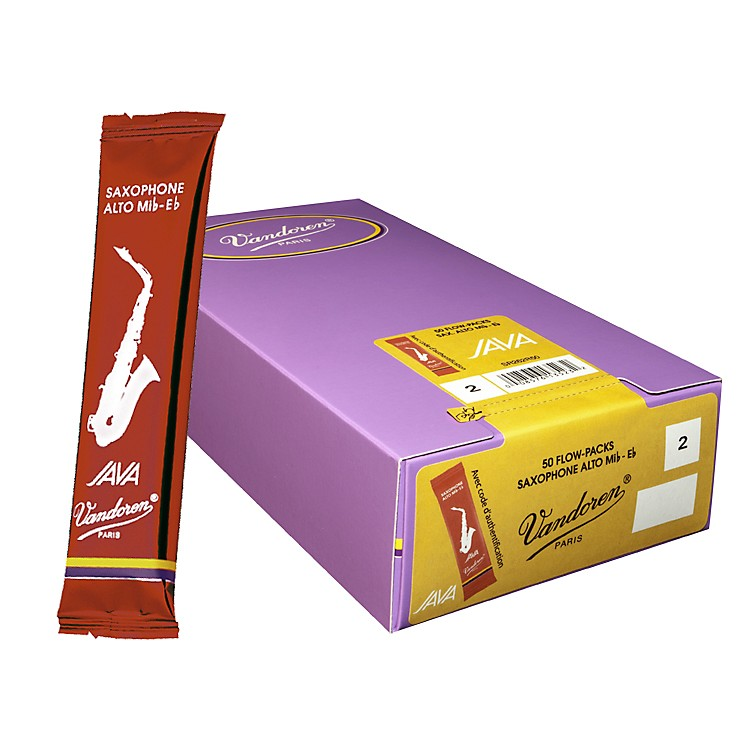 Vandoren Alto Sax Java Reed Box of 50