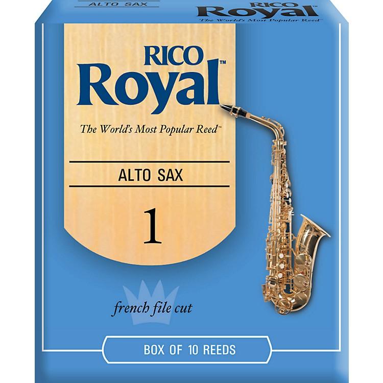 Rico RoyalAlto Saxophone ReedsStrength 1Box of 10