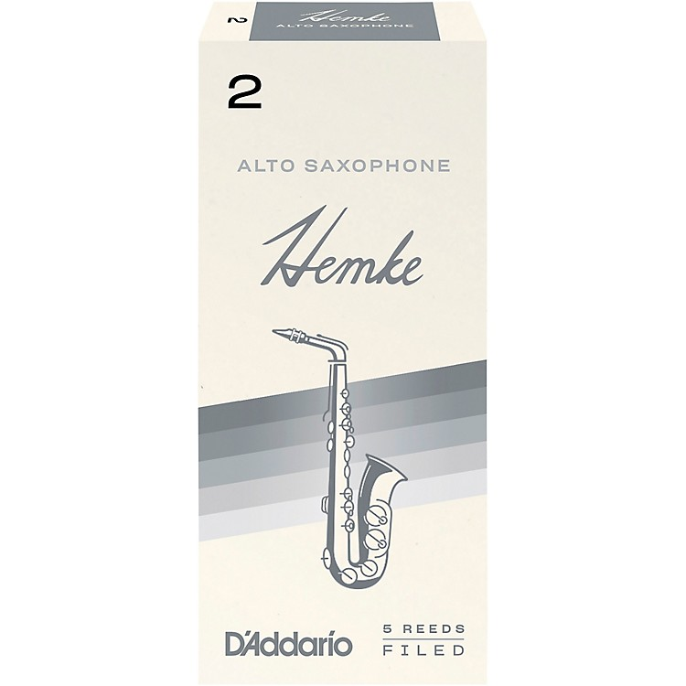 Frederick Hemke Alto Saxophone Reeds Strength 2 Box of 5