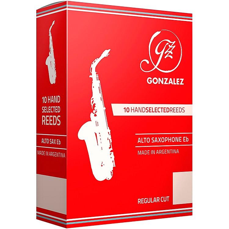 GonzalezAlto Saxophone ReedsStrength 2.5
