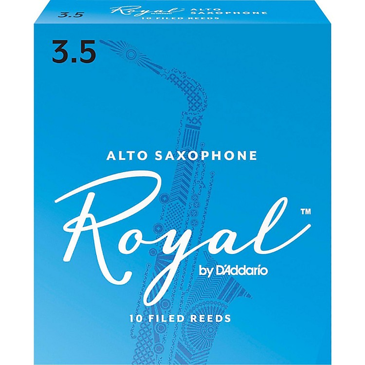 Rico Royal Alto Saxophone Reeds Strength 3.5