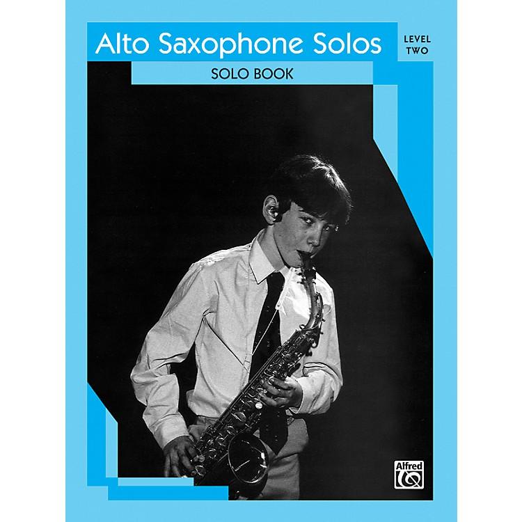 AlfredAlto Saxophone Solos Level II Solo Book