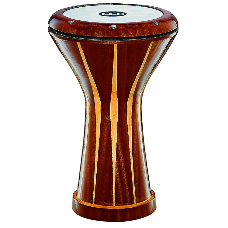 Meinl Aluminum Doumbek, Wood-Covered Wood Covered