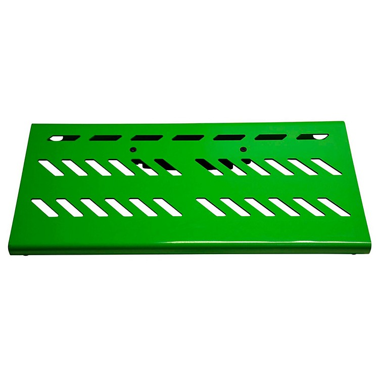 Gator Aluminum Pedal Board - Large with Bag Green