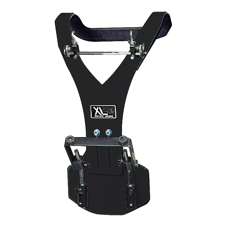 XL Specialty Percussion Aluminum Vest Deluxe Bass Drum Carrier