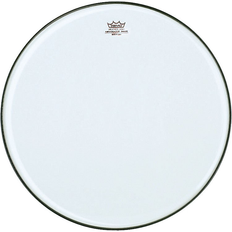 Remo Ambassador Clear Snare Side Marching Head  14 Inch