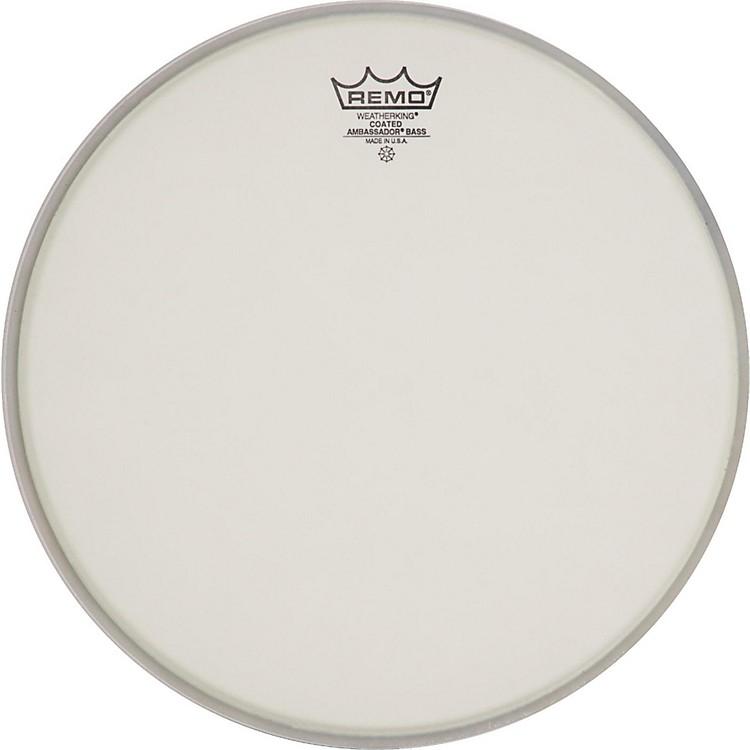 RemoAmbassador Coated Bass Drum Heads