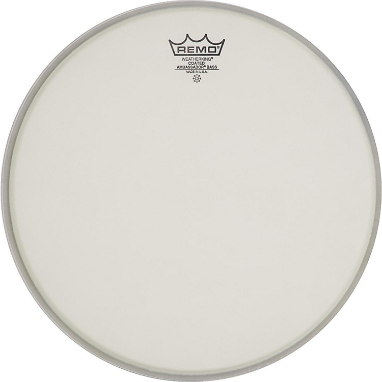 Remo Ambassador Coated Bass Drum Heads 22 Inch