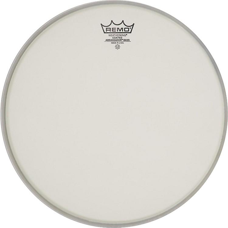 RemoAmbassador Coated Bass Drum Heads22 in.