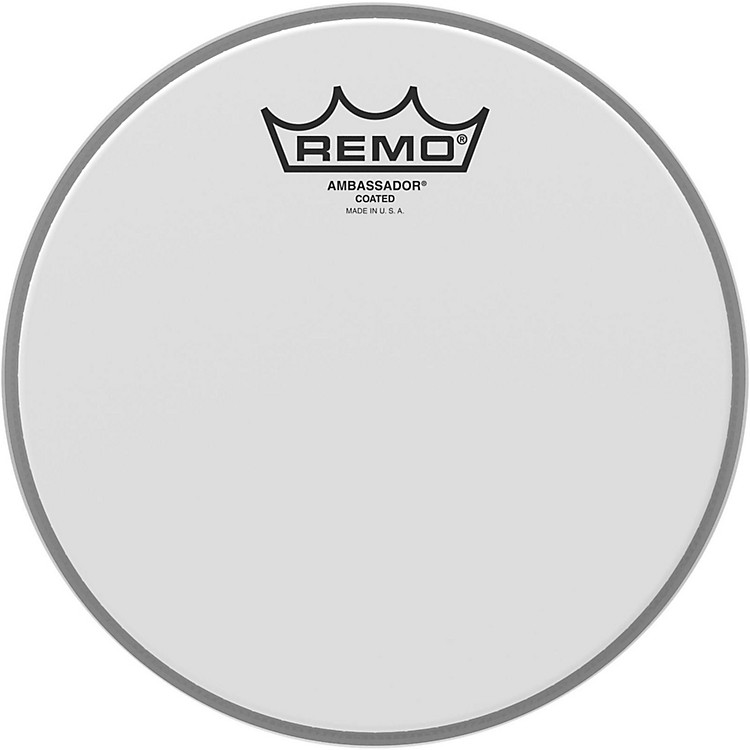 Remo Ambassador Coated Head  8 in.