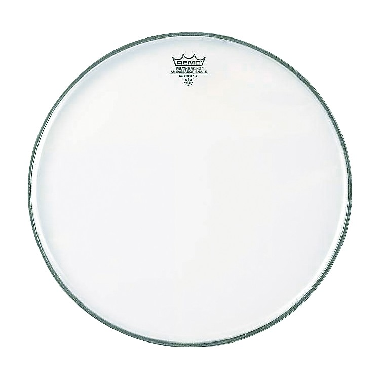 Remo Ambassador Hazy Snare Side Head