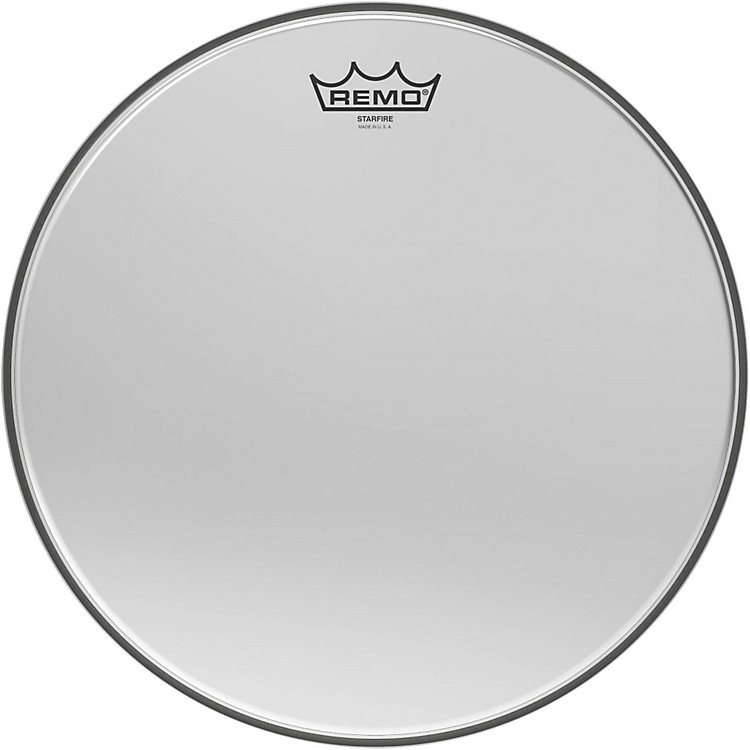 Remo Ambassador Starfire Chrome Tom Head 14 in.