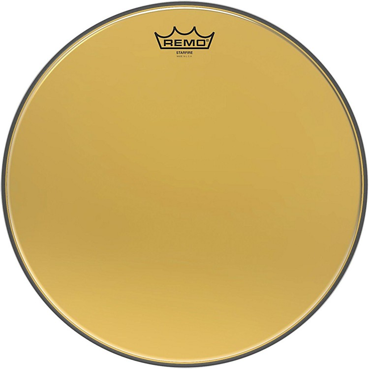 Remo Ambassador Starfire Gold Drum Head 15 in.