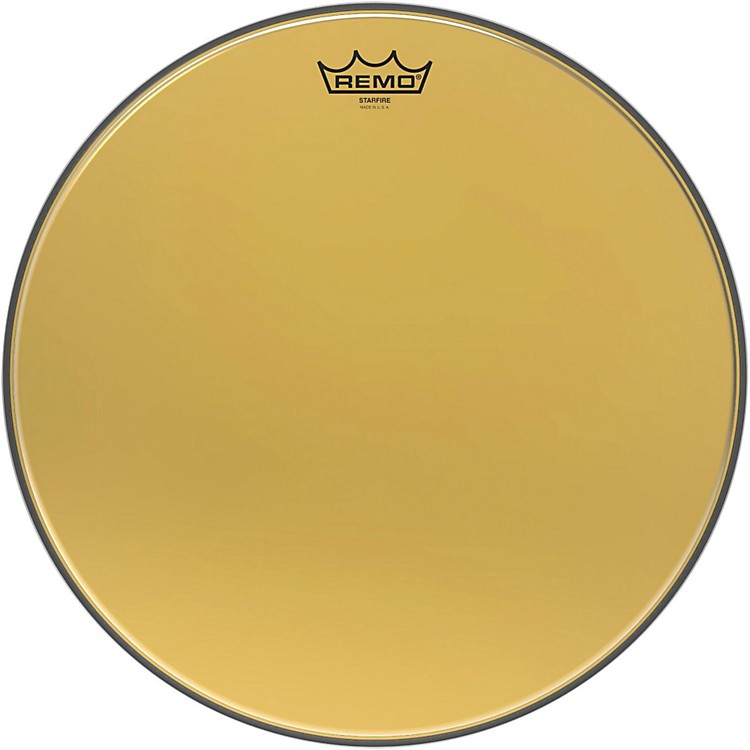 Remo Ambassador Starfire Gold Drum Head 16 in.